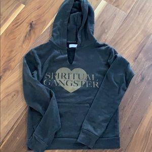 Spiritual gangster hoodie XS